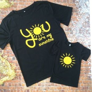 Shirts Amp Tops Mommy Me You Are My Sunshine Childs Tshirt